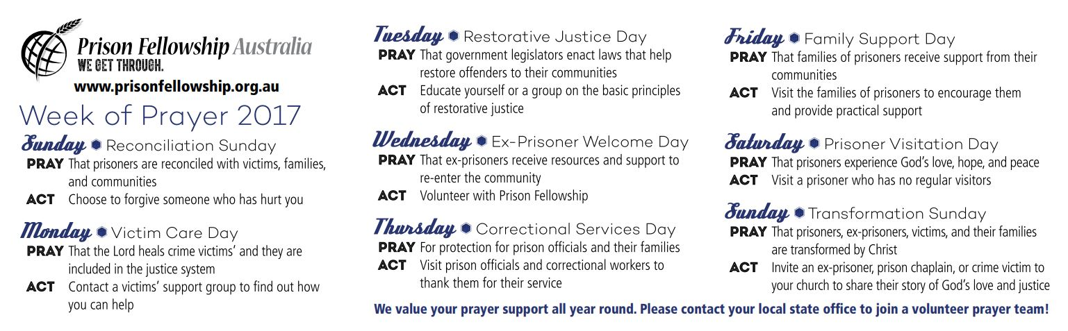 W.O.P. Daily Prayer Points