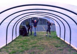 Building the poly tunnel
